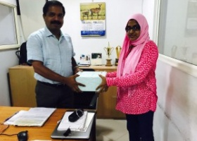 Mrs Ramshida TC secured the first position in India for selling maximum RFID FASTAG as part of National Highways Authority of India - CSC FASTAG project