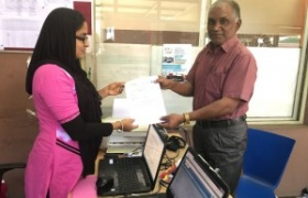 State Bank of India FASTAG presenting to VLE by official