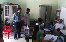 Aadhaar enrolment camp at District Jail, Kollam