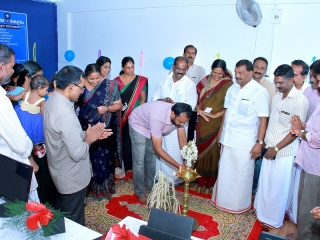 Inaugurated new Akshaya Centre at Gandhi Junction, Sulthan Bathery