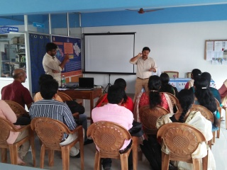 SBI kiosk training